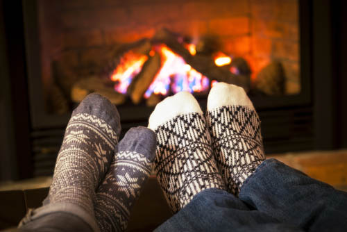 Hygge and Relax by the Fire - brendawatson.com