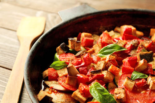 Anemia fighting skillet with meal - brendawatson.com