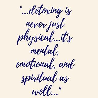 detoxing spiritual