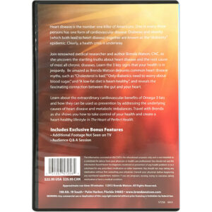 Heart Of Perfect Health: The Startling Truths About Heart Disease DVD