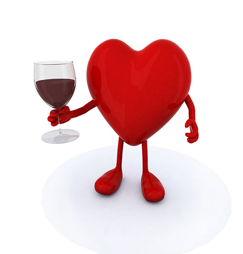 Red Wine for Heart Health?
